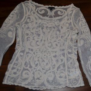 Sheer Lace Express Top